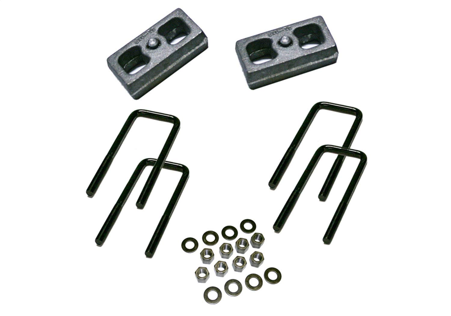 Superlift Suspension Block Kit And U-Bolt 2 in. Lift