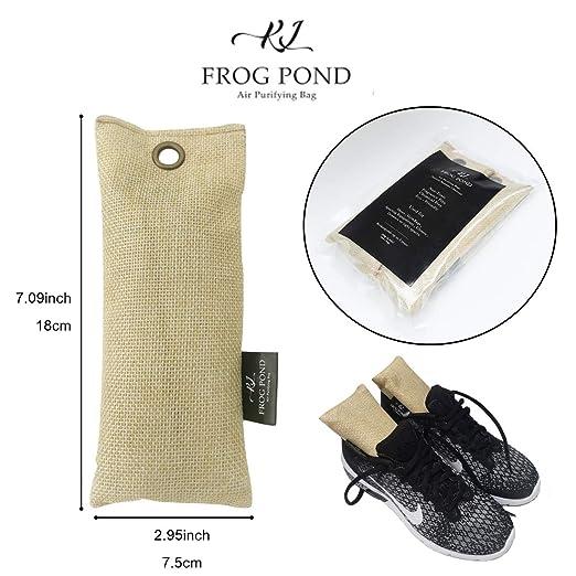 Amazon.com: KLFrogPond - Desodorante de carbón de bambú ...