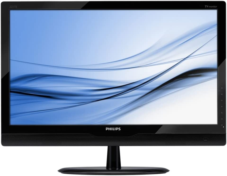 Philips 221TE2LB- Monitor LCD con sintonizador de TV digital, 22 pulgadas: Amazon.es: Informática