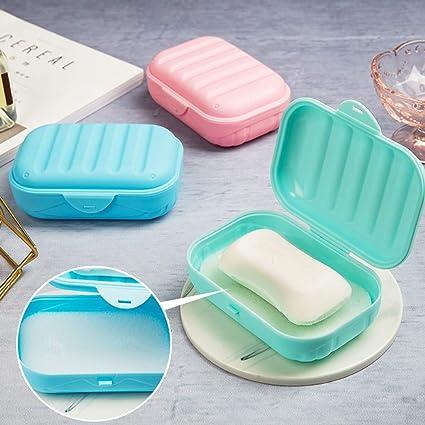 01c67274e390 Sillor New Bathroom Dish Plate Case Home Shower Travel Hiking Holder ...
