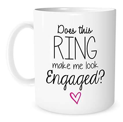 Amazon.com | The Coffee Corner - Does This Ring Make Me Look ...
