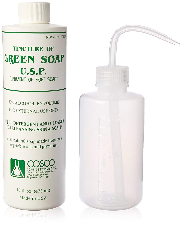 Amazon.com: Cosco Jabón verde, 1 pinta y una botella ...