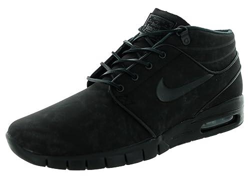 Herren Nike Sb Stefan Janoski Air Max Schwarz And Anthracite
