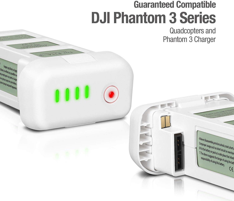 Enegon Akku 2er Packung Upgrade Phantom 3 15 2v 4500mah Kamera