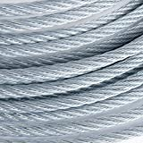 450 Feet of 3/4'' Galvanized Wire Rope Steel Cable IWRC 6x19