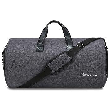 Amazon.com: Modoker - Bolsa convertible para ropa con correa ...