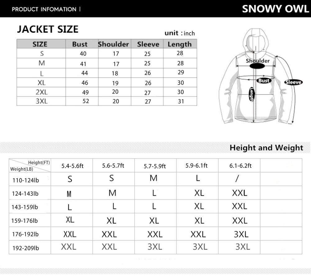 Unisex Ski Suit Snow Jacket and Pants Set