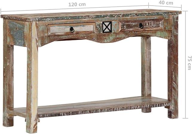 UnfadeMemory Mesa Consola Recibidor de Entrada,Mesa Alta Cocina ...