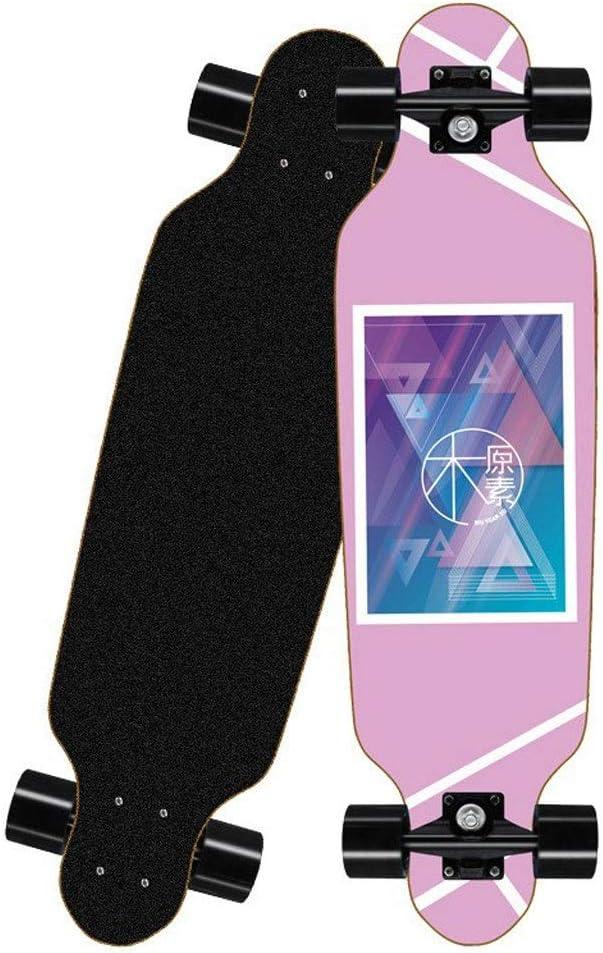 Mini Cruiser Designed for Teens and Adults 31.5 Inch//Pink Triangle Ruler Complete Skateboard Longboard Skateboard