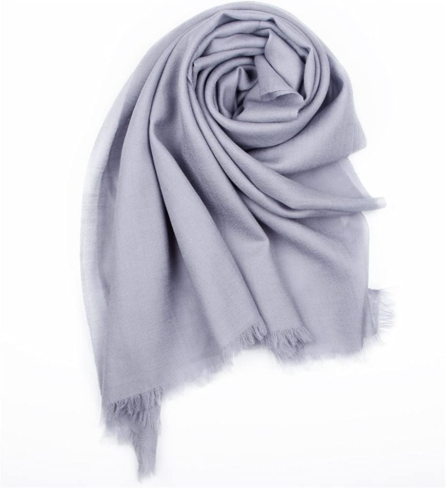 YANIBEST Pure 100/% lamb wool Ultra Thin Scarf Womens Long Scarves Wraps