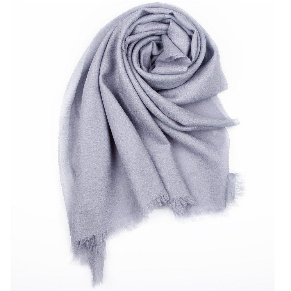 YANIBEST Pure 100% lamb wool Ultra Thin Scarf Womens Long Scarves Wraps