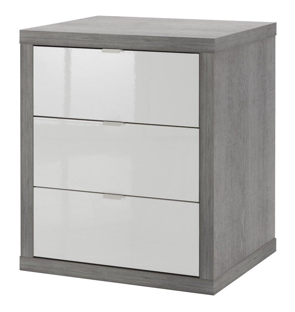 Metallo 3 cassetti Composad CT0737K56104 cassettiera Ufficio Bianco