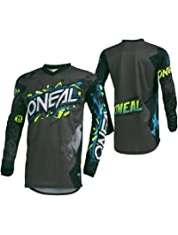 O'Neal Men's Element Villain Jersey (Gray, X-Large)