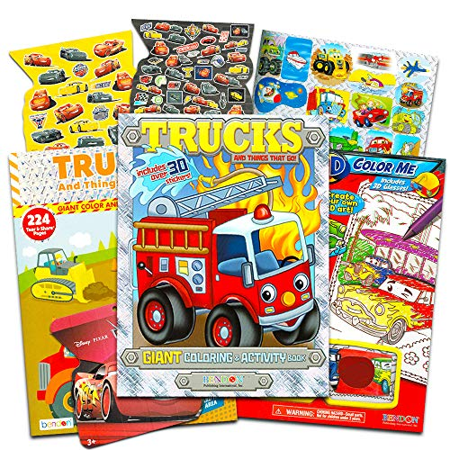 fire truck coloring book - 8