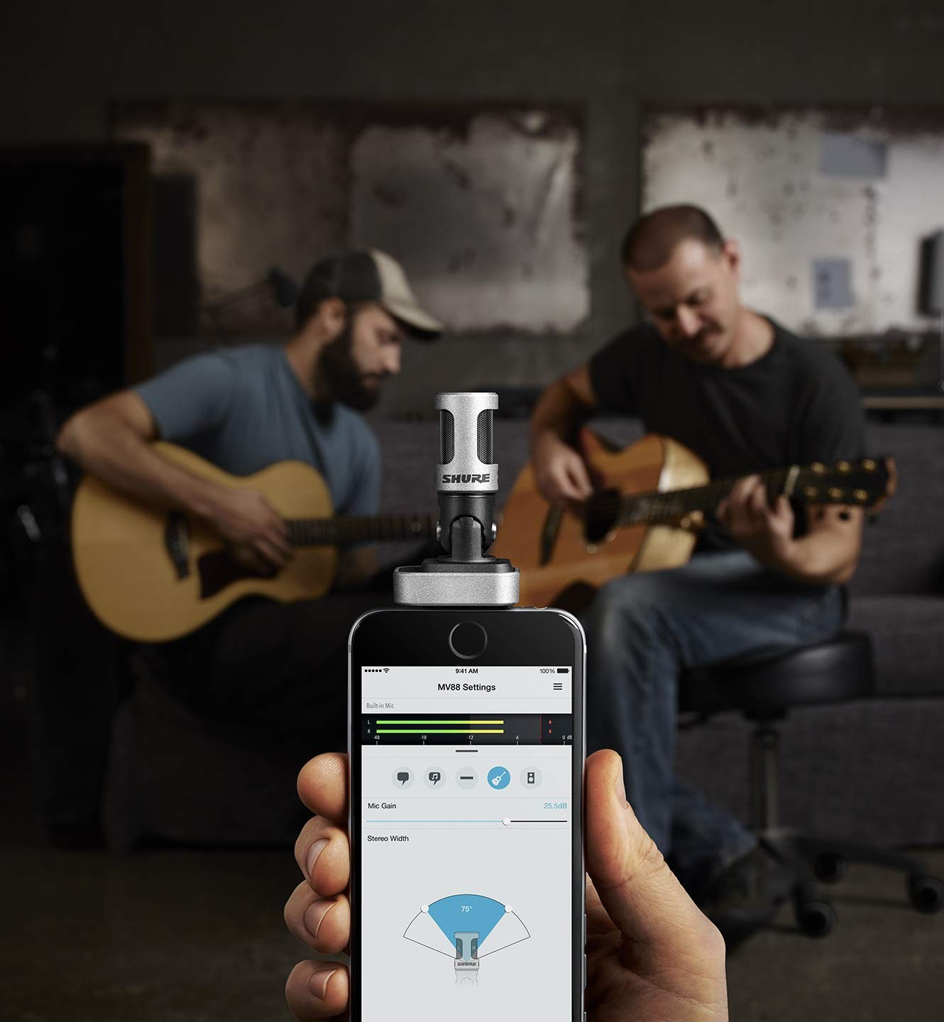 Shure MV88 iOS Digital Stereo Condenser Microphone by Shure (Image #7)