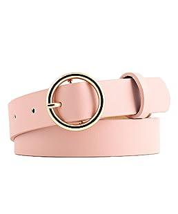 Leisial - Cinturón - para mujer rosa rosa
