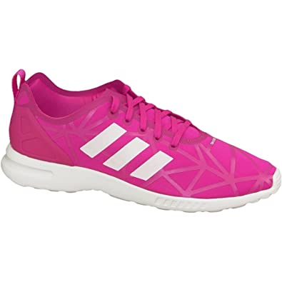 9e247da74 adidas ZX Flux ADV Smooth Shoes - EQT Pink S16-3.5  Amazon.co.uk  Shoes    Bags
