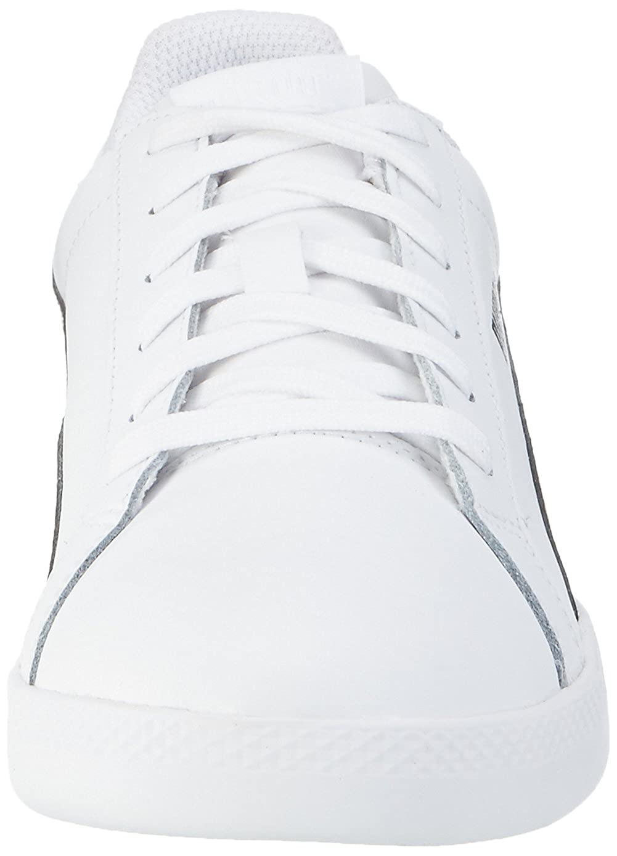 Amazon.com   PUMA Smash Leather, Womens Tennis, White (White/Black), 8 UK (42 EU)   Fashion Sneakers