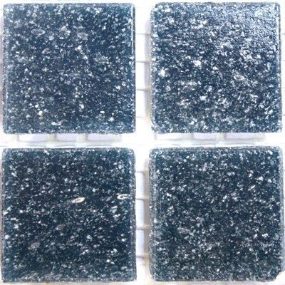 Amazon Vitreous Glass Mosaic Tiles 20mm Navy Blue Kitchen Dining