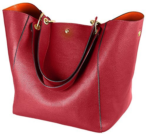 Ladies Red Leather - 8