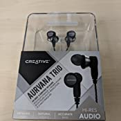 Amazon.com  Creative Aurvana Trio Audiophile in-Ear Headphones with ... 8b355ece43b3