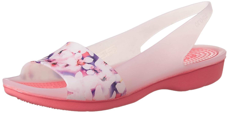 Crocs - - - Frauen Crocband Weiche Blumen Ballerinas bcf9e7