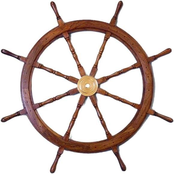 Sailor's Special Premium Ship Wheels | Home Decor Wall Sculptures | 36 INCHES