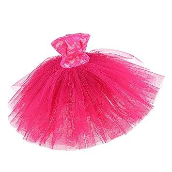 Amazon.es: Mini Falda de Encaje Juegos Bricolaje para Muñeca Niña ...