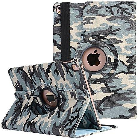 New iPad Folio Case Camouflage A1
