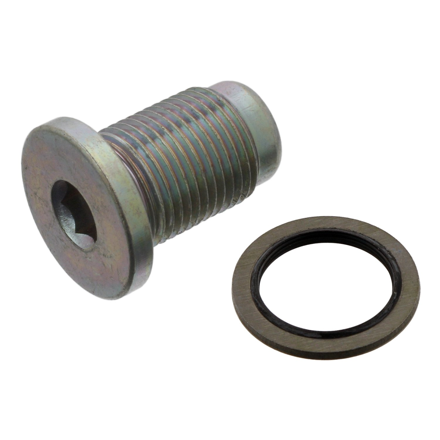 febi bilstein 30264 Oil Drain Plug with seal ring pack of one