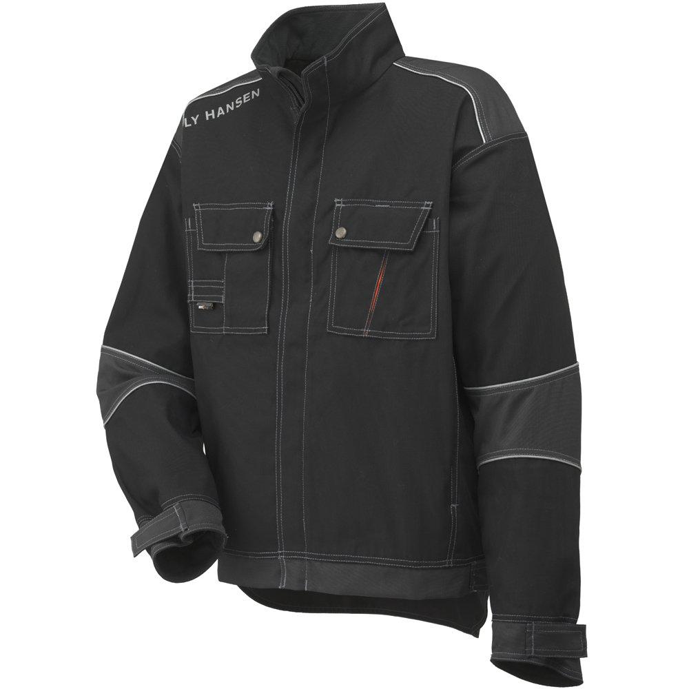Helly Hansen Work Wear Men's Workwear Chelsea Jacket, Black/Charcoal, X-Large by Helly Hansen
