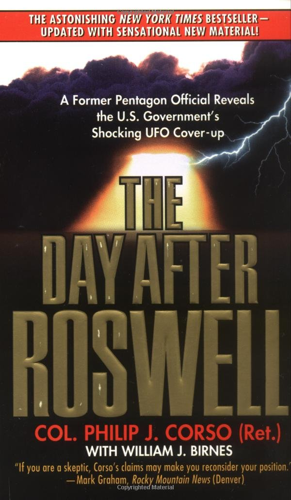 The Day After Roswell Philip Corso 8601416420493 Amazon