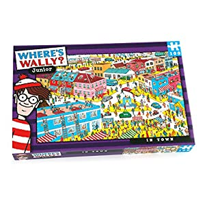 Paul-Lamond-Games-Wheres-Wally-Junior-In-Town-100-Piece-Puzzle