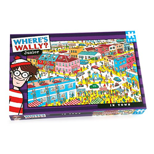 Where'w Wally - In Town - 100 piece puzzle