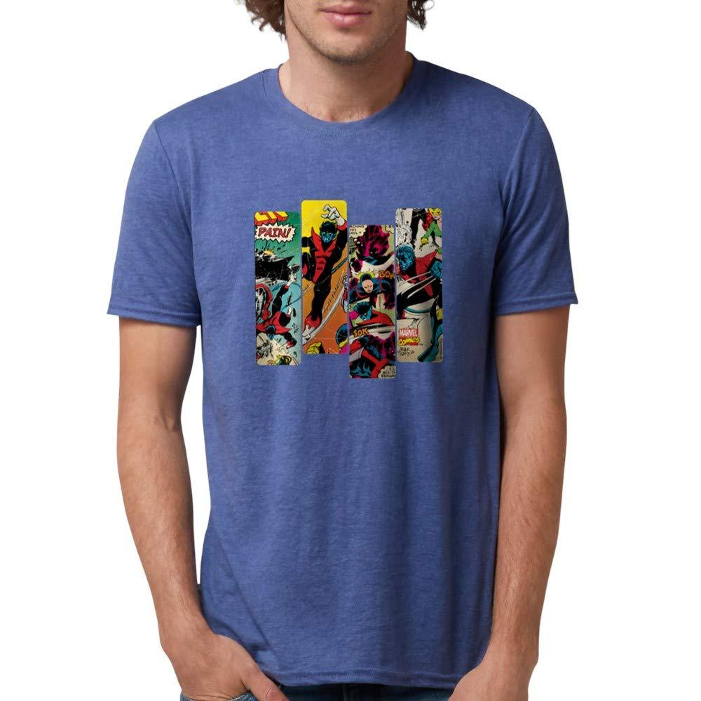 Nightcrawler Comic Panel S Tri Tee 3987 Shirts