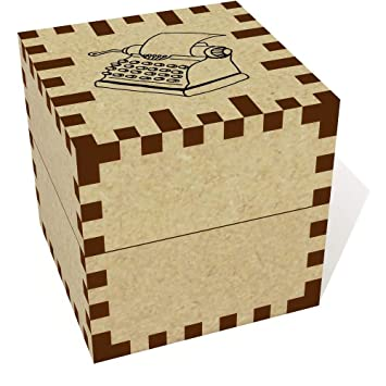 Azeeda Pequeña (39mm) Máquina de Escribir Joyería Caja (JB00038188)