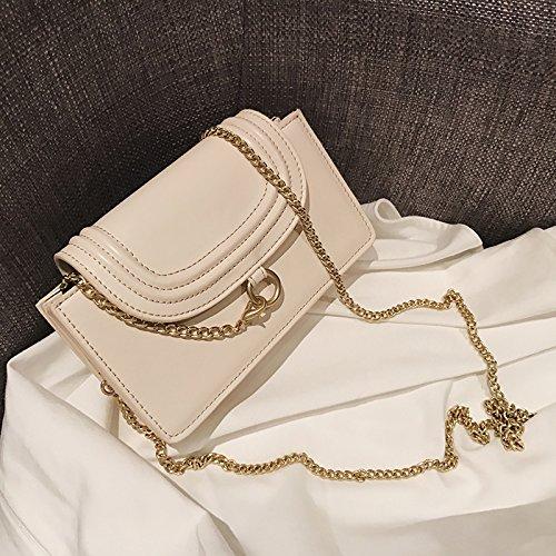 Rice Petit épaule parfumé white Sac Croix Un Les Vent chaîne Oblique Sac la d'elle Paquet dans ZHANGJIA Unique Petit nwCq811HT