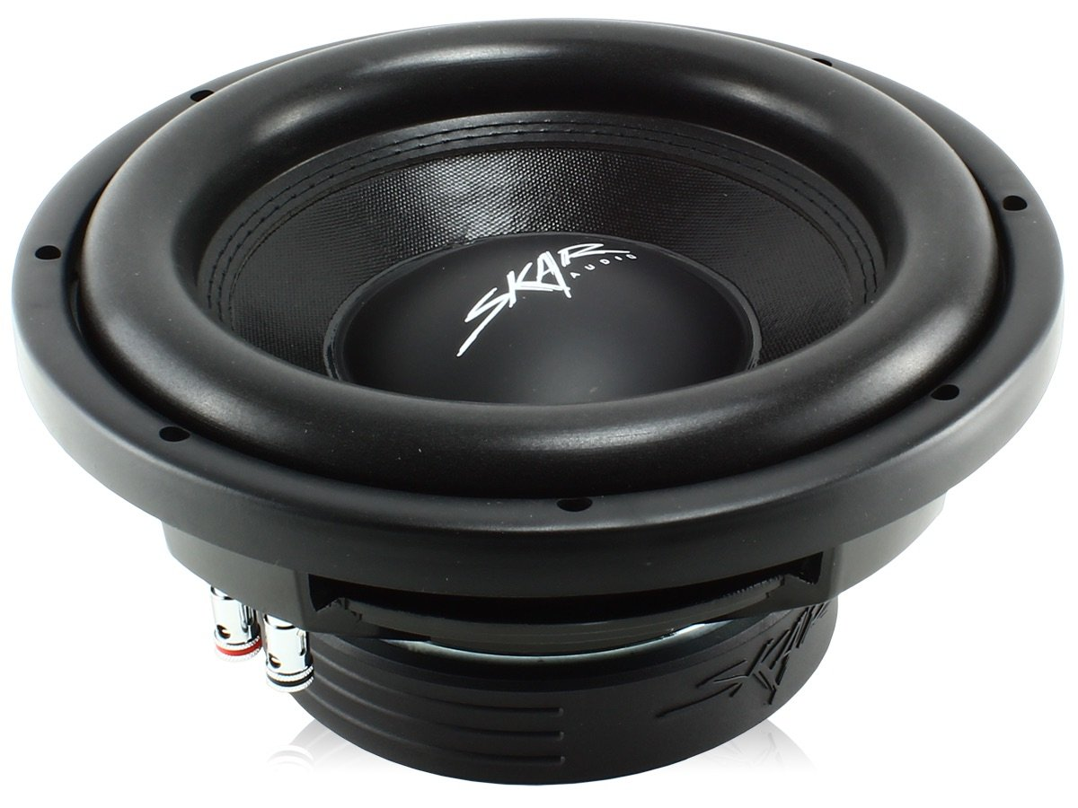 Skar Audio VD-10 D4 10'' Dual 4 800W Max Power Shallow Mount Car Subwoofer