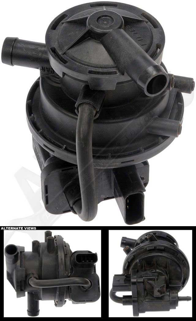 APDTY 113759 Fuel Vapor Leak Detection Pump Fits 1998-2001 Jeep Cherokee (Replaces 4891412AC) by APDTY (Image #2)