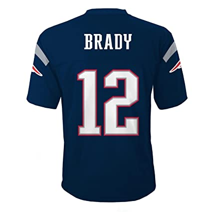 Outerstuff Tom Brady   12 New England Patriots NFL Youth Mid-tier Team  Jersey Navy 9ce716466