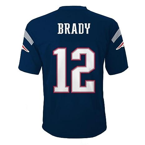 25a6f09c173 Amazon.com   Outerstuff Tom Brady New England Patriots Youth Navy ...