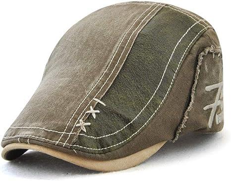 Nueva Boina para Hombres, Gorra de sombrilla de algodón, Sombrero ...
