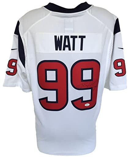 sports shoes d6b91 abffe Signed J.J. Watt Jersey - JJ White Nike Limited - JSA ...