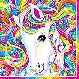 Rainbow Majesty by Lisa Frank Beverage Napkins, 16ct