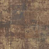 Norwall LL36228 Steel Tile Wallpaper