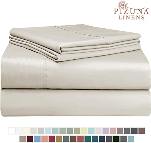 Everyday Soft Sateen Fitted Sheet