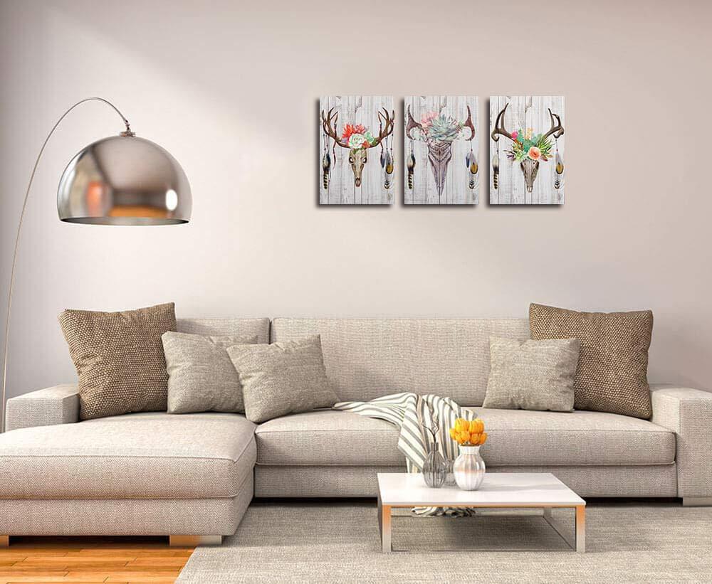 Amazon.com: Lienzo de pared arte pintura impresiones grandes ...