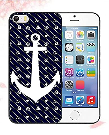 Maxtobeo Iphone 5 5s Se Hülle Rose Matt Aztec Anchor Anker Motiv