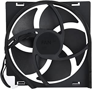 Internal Cooling Fan for Xbox One Game Console, DC 12V Heat Exhauster Fan Cooler Replacement Part Kit(Xbox one x)