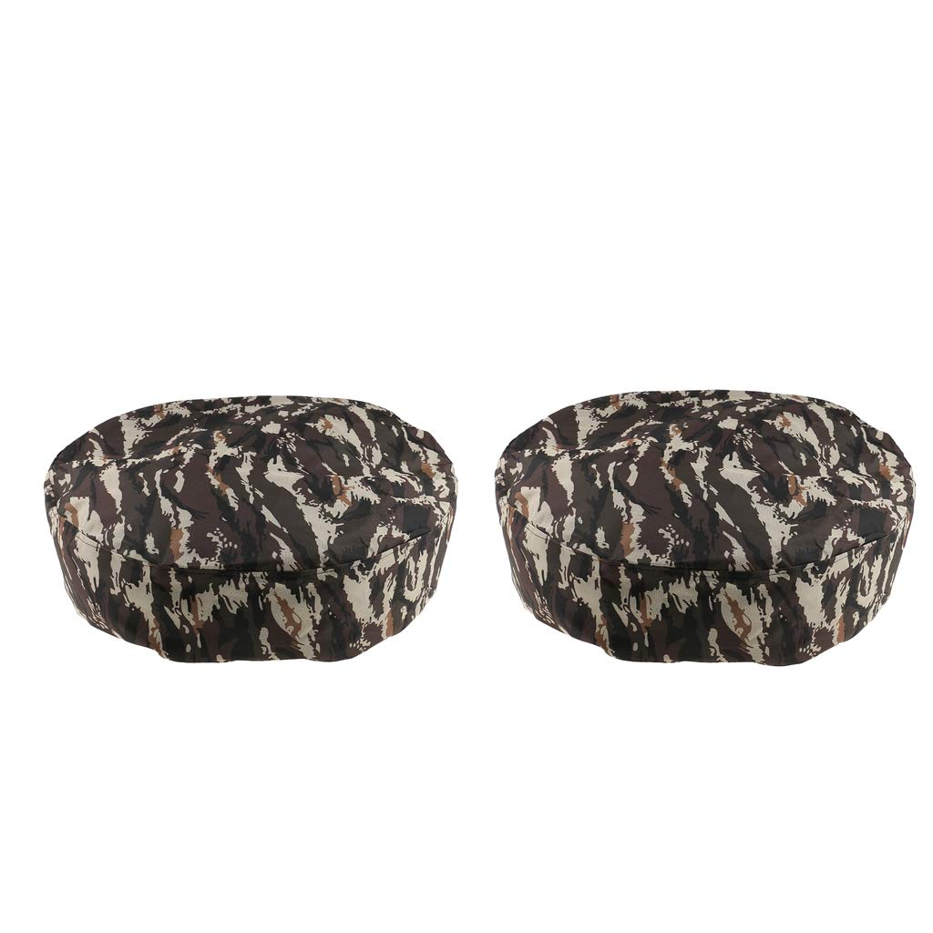 MagiDeal 2pcs 15''/14'' Universal Camo Car Truck Van Rear Spare Tire Tyre Wheel Cover by Unknown (Image #10)